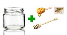 20 Vasetti vasi 106 cc per confetture o bomboniera + 20 capsule + 20 dosa miele