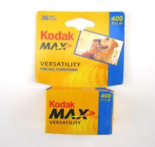 Kodak Max Versatility 400, 35mm Color Film 36 exp. Unopened, Expired
