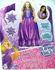 Disney Blankie Tails Frozen Disney Princess Rapunzels Blanket Super Soft NEW