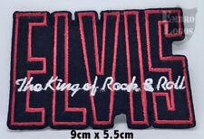 ELVIS Embroidered Rock Band Iron On or Sew On Patch UK SELLER Patches