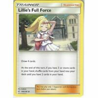 4x Lillie's Full Force 196/236 Cosmic Eclipse Pokemon Playset Uncommon NM