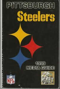 1999 Pittsburgh Steelers NFL Football Media Guide