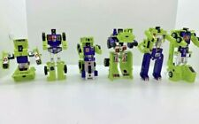 Vintage G1 Transformers Devastator 1984 Complete with Accessories and Cards