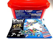 K'Nex 13597 Deluxe Building Toys Construction Set 375 Pieces Age 7+