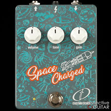 BRAND NEW CRAZY TUBE CIRCUITS SPACE CHARGED HANDMADE BOUTIQUE OVERDRIVE PEDAL