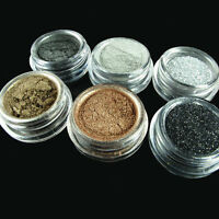 New 6 Colors Smoky Eye Version Eyeshadow Make Up pigment Glitter Set