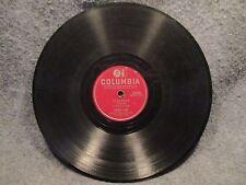 "78 RPM 10"" Record Frankie Laine Flamenco & Jealousy Columbia Records 39585"