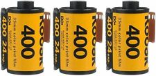 3 Rolls Kodak GC 400 ISO 135-24 Exposure UltraMax Color Print 35mm Film FRESH