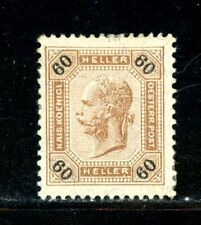 Austria Scott # 60 - Mh - Cv=$60.00 - Nice Centering