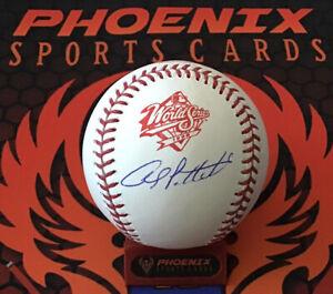 Andy Pettitte Signed Official 1998 World Series Baseball MLB + Fanatics