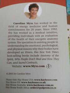 Caroline Myss 50 Medical Oracle reading normal sized cards 🌷🌸🌷🌸🌷