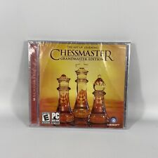 Chessmaster: The Art of Learning -- Grandmaster Edition PC DVD-ROM Software NEW