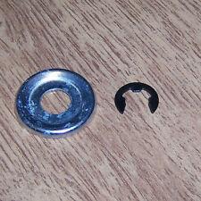 Anello di ritegno + DISCO per ruota catena adatto a STIHL 034av/R MOTOSEGA NUOVO