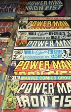 Power Man and Iron Fist, Vol 1 Lot of 9 Issues 1981-1985 *Excellent Condition*
