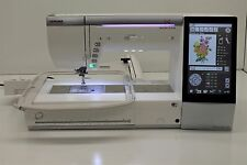 MINT JANOME MEMORY CRAFT 15000 HORIZON SEWING, QUILTING & EMBROIDERY MACHINE!