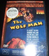 The Wolf Man (Claude Rains Warren William) (Australia Region 4) DVD – New
