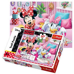 Trefl 30 Piece Disney Minnie Kids Girls Best Friends Daisy Duck Jigsaw Puzzle