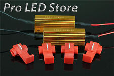 2X 6ohm 50W LED Load Resistor Turn Signal Blinkers Fog Lights Fix Hyper Flash
