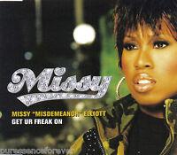 MISSY 'MISDEMEANOR' ELLIOTT - Get Ur Freak On (UK 3 Tk CD Single)