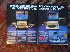 1979 Print Ad Atari 400 Personal Computer ~ You Don't Have To Be a Genius