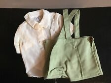 Doll Terri Lee Clothing Jerri Lee Green suspended Shorts and Shirt 1950's