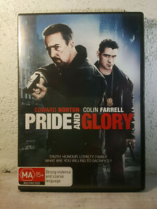 PRIDE AND GLORY DVD Edward Norton Colin Farrell 2009 Gritty Cop Action Movie R4