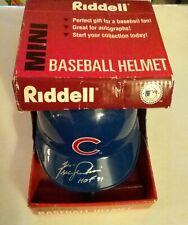 Fergie Jenkins Signed Chicago Cubs Mini Helmet HOF