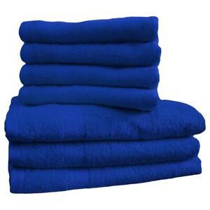 Dyckhoff High Quality 100% Organic Cotton Face Hand Bath Towel Bale Blue