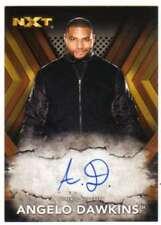 2017 Topps WWE NXT Wrestling Autograph Bronze AUTO /99 #RA-AD Angelo Dawkins