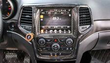 For Jeep Grand Cherokee 2014-2018 Inner Car Black Navigation GPS Cover Trim 1pcs