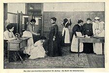 Amerikan.Lehranstalt für Farbige: Klasse für Schneiderinnen Bilddokument 1902