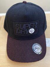 Superdry Winter Baseball Cap - Navy BNWT