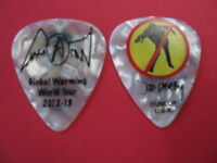 Aerosmith Joe Perry Signature Guitar Pick #2 - 2012-2013 Global Warming Tour