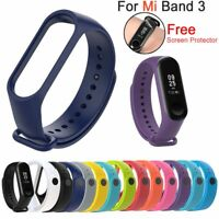 Silicone Bracelet Wrist Strap Replacement Wristband Smart Band for Mi Band 3