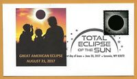 Family Eclipse. 2017 Great American Eclipse. Total Solar Eclipse of the Sun. FDC
