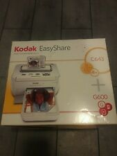 New Kodak EasyShare G600 Printer Dock Digital Photo Thermal Printer