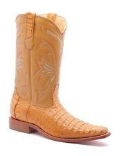 Los Altos Mens Authentic Genuine Alligator Belly Skin Cowboy Western Boots
