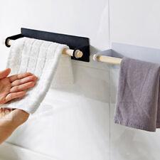 Wall Hanging Towel Bar Rack Stickers Storage Kitchen Wipe Portable Holder JD