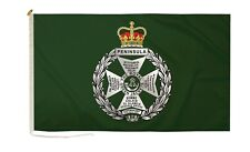 More details for duraflag royal green jackets military 5ft x 3ft flag with rope and toggle