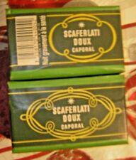 2 paquet tabac scaferlati doux caporal ancien neuf 40 g seita ancien collection