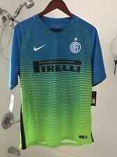 Nike Inter Milan 3rd Blue/Green Jersey 2016-2017 NWT - Originally $90