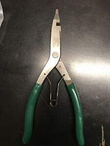 SK Tools SK7635 Straight Tip Lock Ring Pliers - 9 In