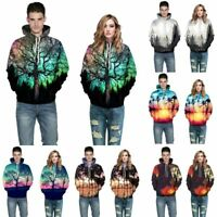 Pullover Mens Jumper Unisex Tops 3D Print Hoodie Graphic Hooded Womens Blouse