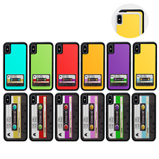 Case Personalised Name Cover for iPhone X XS 10 11 PRO MAX XR / CASSETTE TAPE