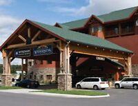 Wyndham Great Smokies Lodge-2 Bd Presidential - May 22-26 - Wilderness waterpark