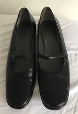 Jil Sander Mary Jane Flats Shoes Sz 37 1/2 Italy