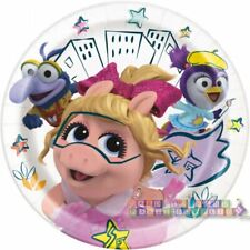 MUPPET BABIES SMALL PAPER PLATES (8) ~ Baby Shower 1st Birthday Party Supplies