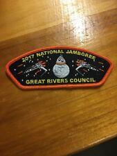 2017 Jamboree - Great Rivers Council Boy Scout Star Wars Patch JSP
