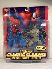 Marvel Legends Mcfarlane Spiderman Classic Clashes Abomination 2 Pack Toybiz