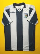 0f9cb82cf 4.5 5 West Bromwich Albion jersey small 2008 2009 home shirt Umbro soccer  ig93